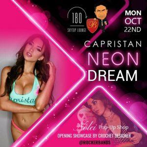 Capristan Neon Dream Pop Up
