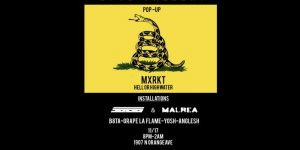 MXRKT Pop-Up Shop