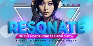 RESONATE: Silent Headphone Fashion Show